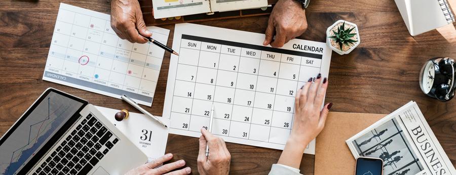Hilfreiche Kalender - 5 grundlegende DIY Hochzeitsgästebuch-Ideen, um Ihren besonderen Tag besonders unvergesslich zu machen.